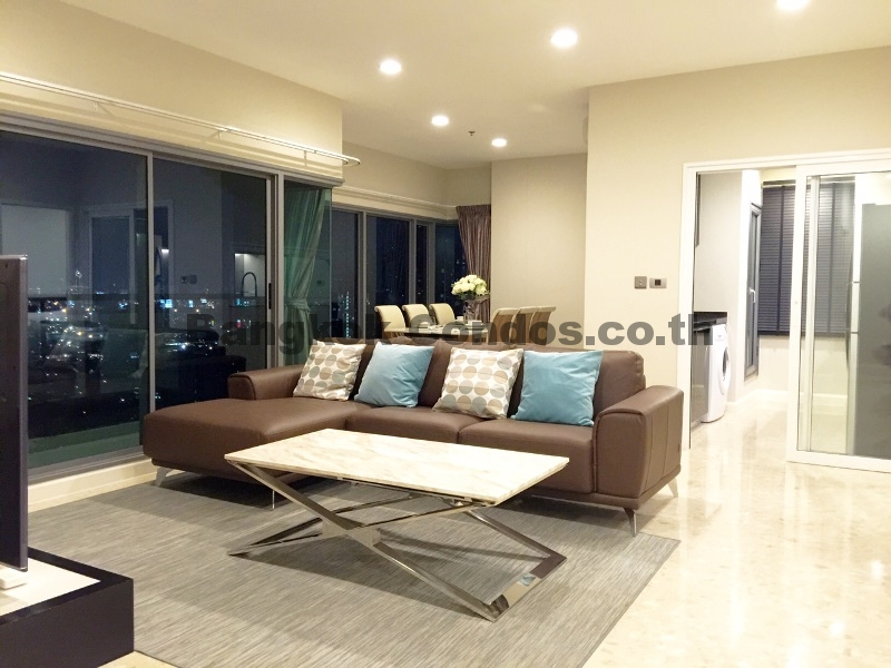 The Crest Sukhumvit 34 2 Bed Condo for Rent Thonglor