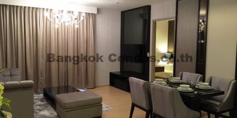 Executive 1 Bedroom Condo for Rent HQ by Sansiri Condo Near Thonglor BTS_BC00063_1