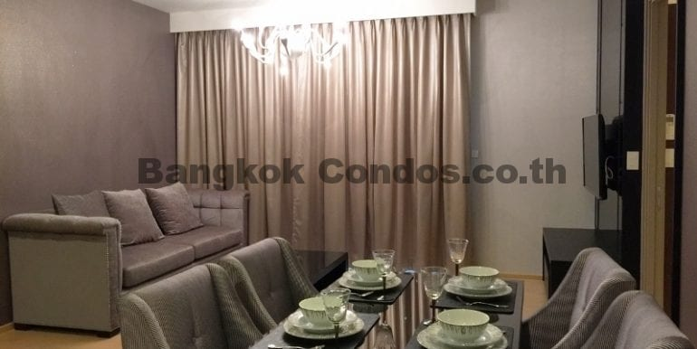 Executive 1 Bedroom Condo for Rent HQ by Sansiri Condo Near Thonglor BTS_BC00063_3