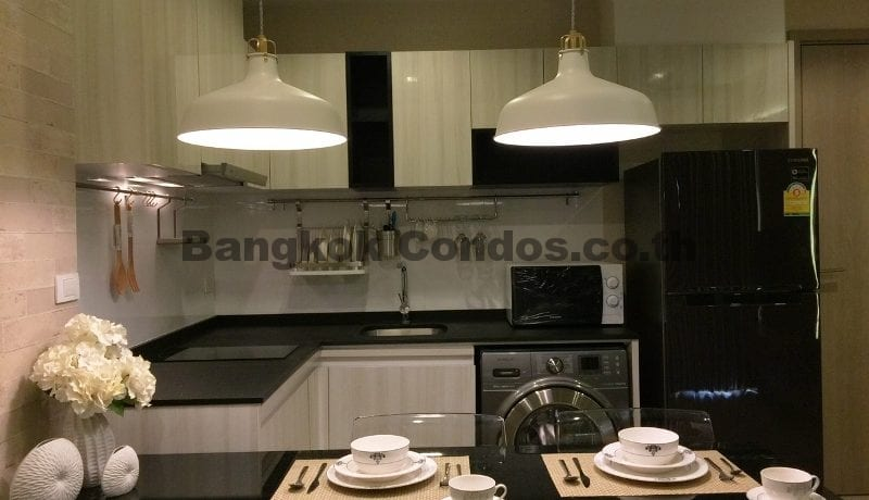 Luxurious 1 Bedroom Condo for Rent HQ by Sansiri Condo Near Thonglor BTS_BC00071_2