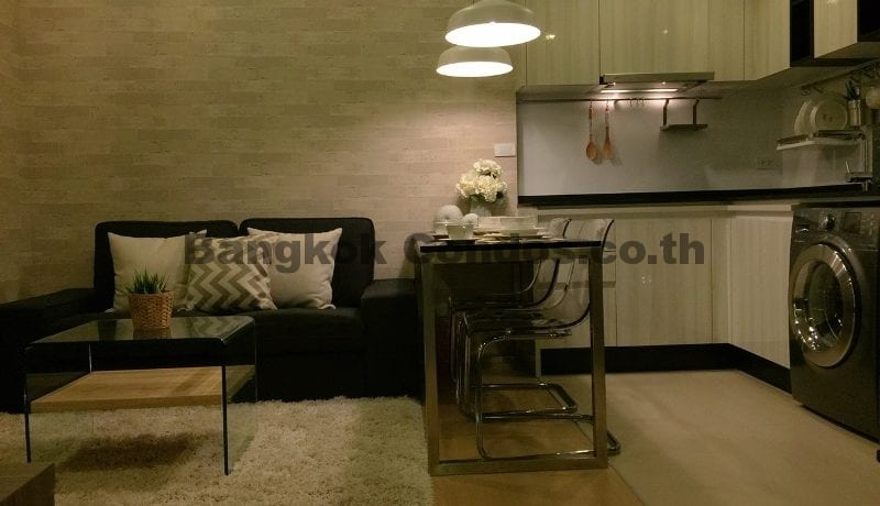Luxurious 1 Bedroom Condo for Rent HQ by Sansiri Condo Near Thonglor BTS_BC00071_5