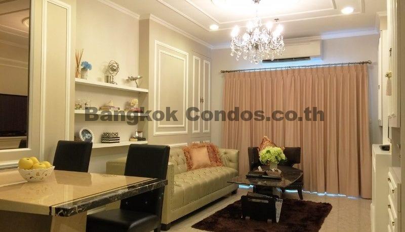 Stunning 2 Bedroom Condo for Rent The Crest Sukhumvit 34 Condo Near Thonglor BTS_BC00072_1