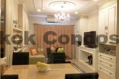 Stunning 2 Bedroom Condo for Rent The Crest Sukhumvit 34 Condo Near Thonglor BTS_BC00072_2