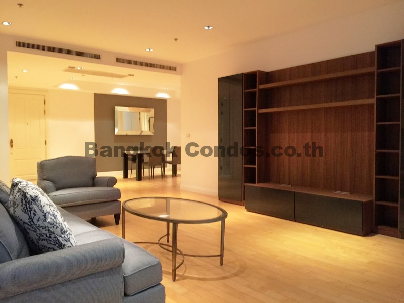 Athenee Residence 3 Bed Condo for Rent Phloen Chit