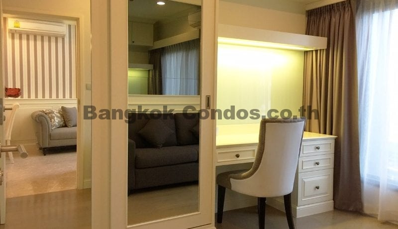 Elegant 2 Bed Duplex Condo for Rent The Crest Sukhumvit 34 Thonglor Condo Rental_BC00154_19
