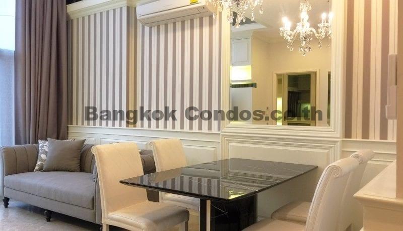 Elegant 2 Bed Duplex Condo for Rent The Crest Sukhumvit 34 Thonglor Condo Rental_BC00154_3