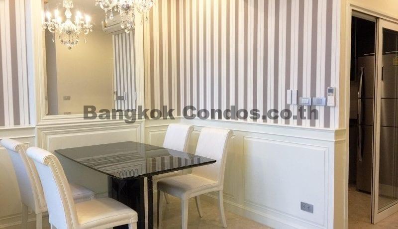 Elegant 2 Bed Duplex Condo for Rent The Crest Sukhumvit 34 Thonglor Condo Rental_BC00154_4