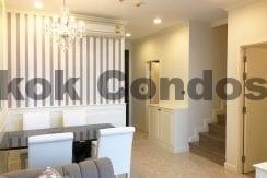Elegant 2 Bed Duplex Condo for Rent The Crest Sukhumvit 34 Thonglor Condo Rental_BC00154_6