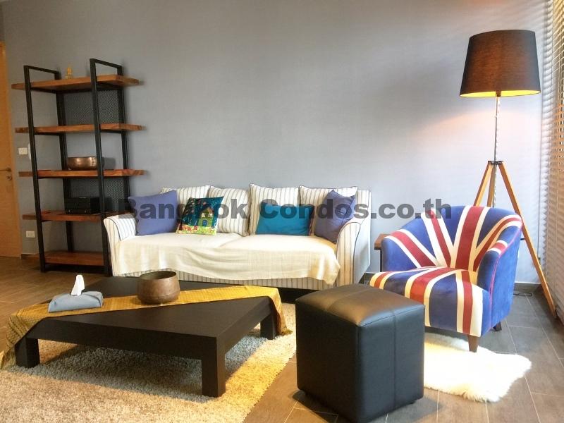The Lofts Ekkamai 2 Bed Condo for Rent Sukhumvit