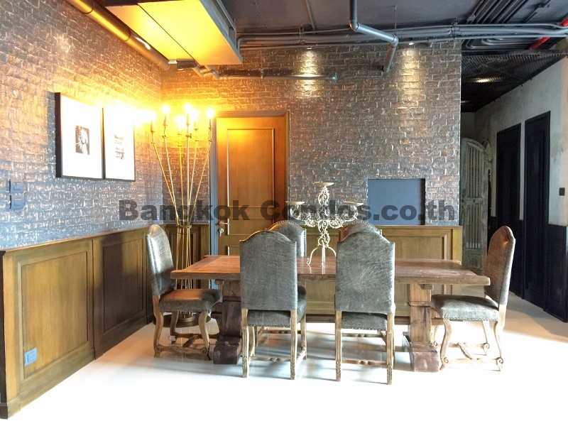 New York Loft 3 Bed Condo for Sale Aguston Sukhumvit 22