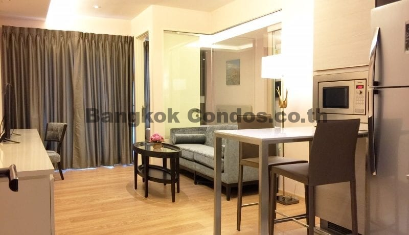 Charming 1 Bed H Sukhumvit 43 1 Bedroom Condo for Rent Thonglor Condos_BC00215_1