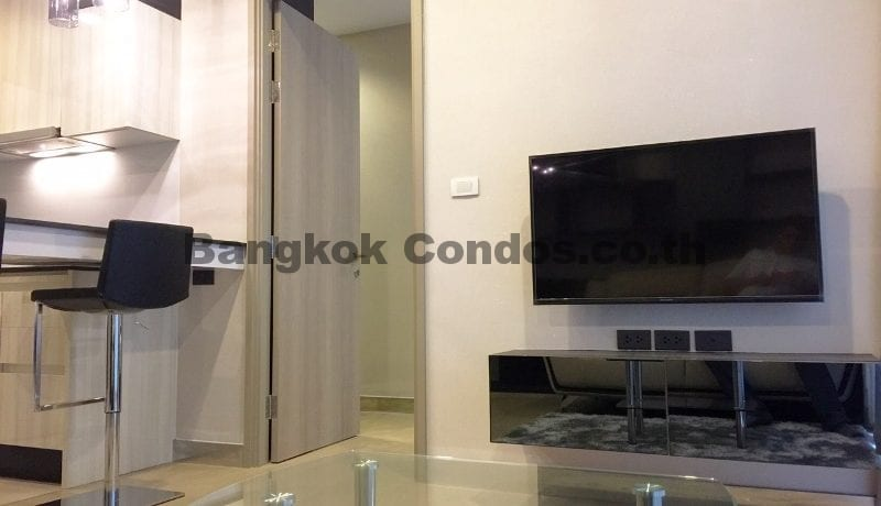 Modern 1 Bed HQ By Sansiri 1 Bedroom Condo for Rent Thonglor Condo Rentals_BC00198_3