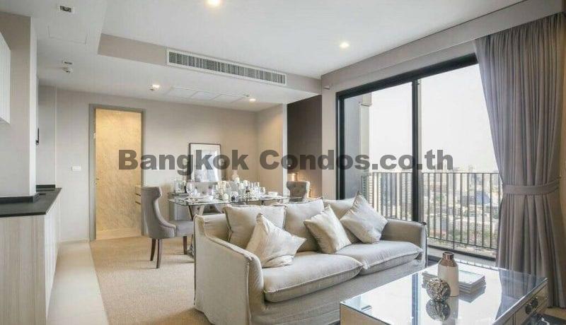 RENT 1 Bed Duplex at HQ By Sansiri 1 Bedroom Condo Rental in Thonglor_BC00204_1