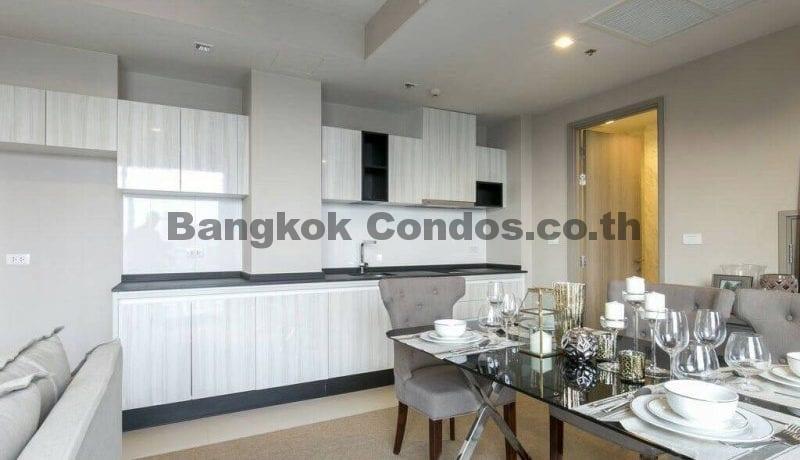 RENT 1 Bed Duplex at HQ By Sansiri 1 Bedroom Condo Rental in Thonglor_BC00204_2