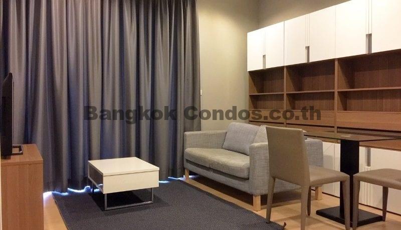 RENT 1 Bed at HQ By Sansiri 1 Bedroom Condo Rental in Thonglor_BC00203_1