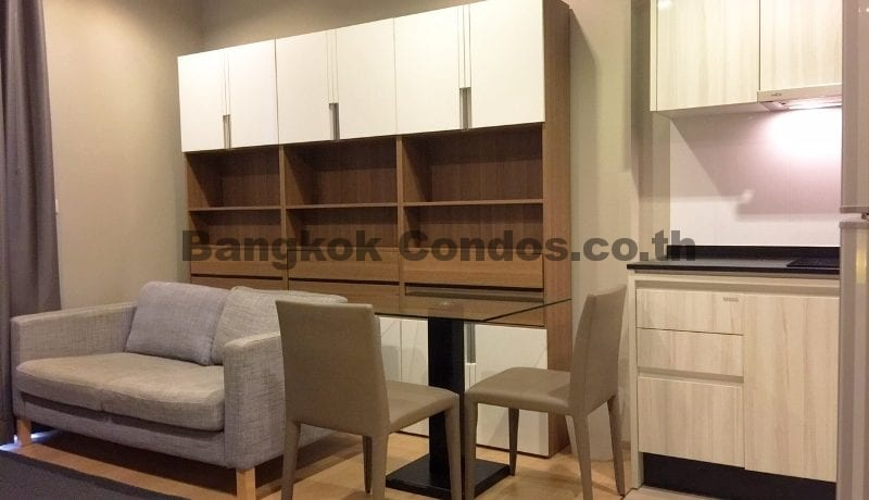 RENT 1 Bed at HQ By Sansiri 1 Bedroom Condo Rental in Thonglor_BC00203_2