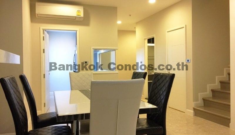 Rent a Spacious 2 Bedroom Duplex Condo at The Crest Sukhumvit 34_BC00220_4