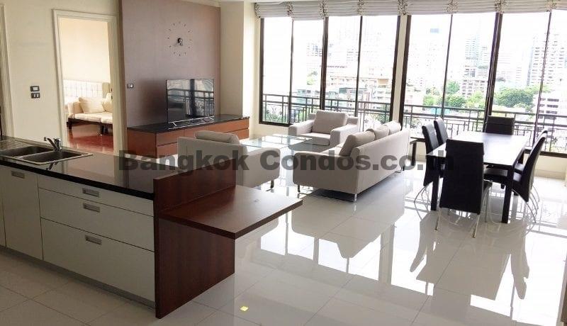 Pet Friendly 2 Bedroom Penthouse for Rent Prime Mansion Sukhumvit 31_BC00285_1