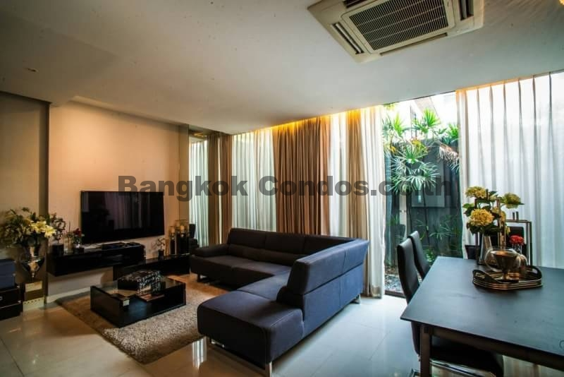 Superior 4 Bedroom Townhouses For Rent Part - 7: ... Pet Friendly 4 Bedroom Townhouse For Rent Sukhumvit House  Rentals_BC00301_2 ...