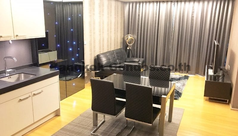 Executive 1 Bedroom Prive by Sansiri Condo for Rent Soi Ruamrudee_BC00316_1