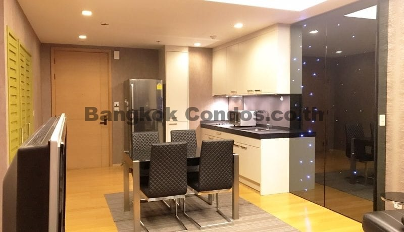 Executive 1 Bedroom Prive by Sansiri Condo for Rent Soi Ruamrudee_BC00316_3