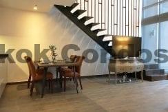 Inviting 2 Bedroom Duplex Penthouse for Rent The Lofts Ekkamai_BC00319_2