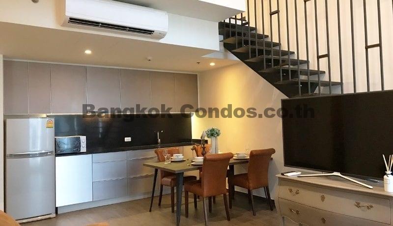 Inviting 2 Bedroom Duplex Penthouse for Rent The Lofts Ekkamai_BC00319_3