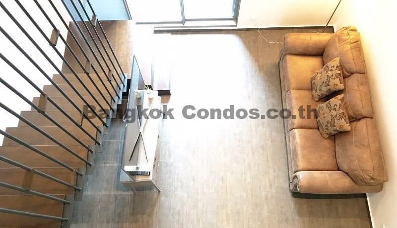 Inviting 2 Bedroom Duplex Penthouse for Rent The Lofts Ekkamai_BC00319_5
