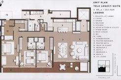 Legacy Suite A 3 Bedroom TELA Thonglor Condominium for Sale Thonglor Condos_BC00328_1